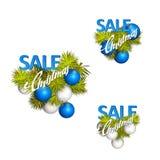 Christmas sales. Royalty Free Stock Image