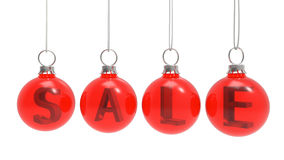 Christmas sales concept Royalty Free Stock Photo