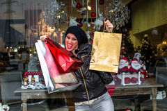 Christmas Sales Stock Photography
