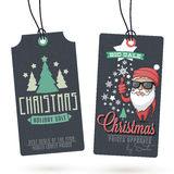 Christmas Sales Hang Tags Stock Photos