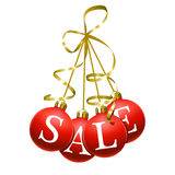 Christmas sales symbol Royalty Free Stock Photography