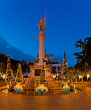 Christmas in San Juan Royalty Free Stock Images