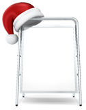 Christmas Sandwich Board. Royalty Free Stock Photography