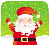 Christmas Santa. Stock Photography