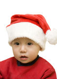 Christmas santa baby stock images