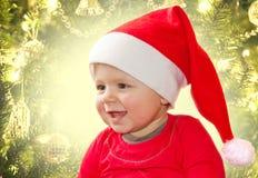 Christmas Santa Baby Stock Image