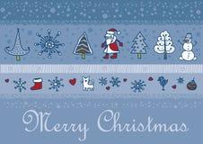 Christmas santa background Royalty Free Stock Photography