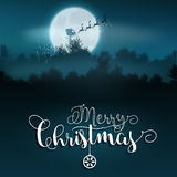 Christmas Santa background Royalty Free Stock Images