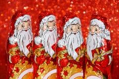 Christmas Santa Chocolate Stock Image