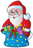 Christmas Santa Claus 3 Stock Photo