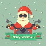 Christmas Santa Claus background Stock Images