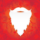 Christmas santa claus beard Stock Photography
