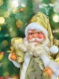 Christmas Santa Claus with a big white beard Royalty Free Stock Photo