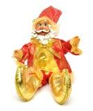Christmas Santa Claus Doll - Sitting Down Stock Photos