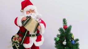 Christmas Santa Claus stock video