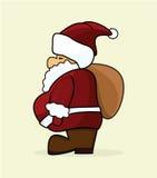Christmas santa claus Stock Image