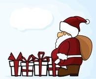 Christmas santa claus Royalty Free Stock Photography