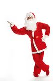 Christmas Santa Clause. On a white background royalty free stock images