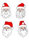 Christmas Santa Clouses Royalty Free Stock Photo