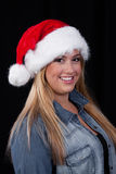 Christmas Santa Girl Royalty Free Stock Photography