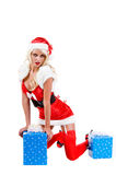 Christmas Santa Helper Stock Photography