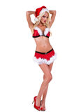 Christmas Santa Helper Stock Photo