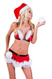 Christmas Santa Helper Royalty Free Stock Image