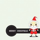 Christmas with santa. If santa come that mean christmas day is now.n Royalty Free Stock Images