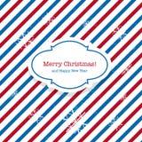 Christmas Santa post Stock Photography