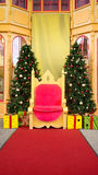 Christmas and Santa stage Royalty Free Stock Photos