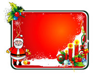 Christmas santa vector Stock Image