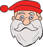 Christmas santa Stock Photography