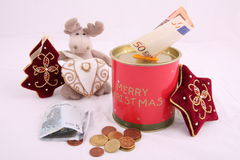 Christmas savings Stock Images