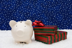 Christmas Savings Royalty Free Stock Photography