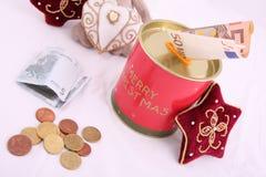 Christmas savings Royalty Free Stock Image