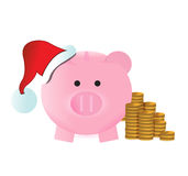 Christmas savings concept Royalty Free Stock Images