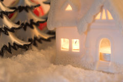 Christmas scene Stock Photo