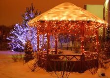 Christmas scene Royalty Free Stock Photography