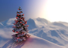 Christmas scene Royalty Free Stock Image
