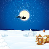Christmas Scene royalty free stock photography