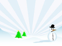 Christmas scene Royalty Free Stock Images