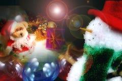 Christmas Scene. Xmas decorations stock photography