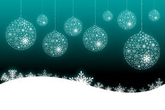 Christmas scene background Stock Photo