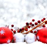 Christmas scene Stock Photography