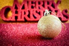 Christmas Scene. Greeting Card Stock Photos