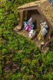 Christmas Scene - Nacimiento Stock Photos