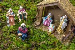 Christmas Scene - Nacimiento Royalty Free Stock Photography