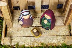 Christmas Scene - Nacimiento. Christmas Scene Nacimiento, navidad natividad Royalty Free Stock Photos