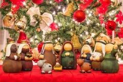 Christmas Scene - Nacimiento Stock Image