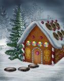 Christmas scenery 10 stock image
